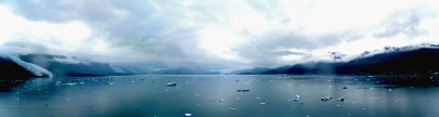 A Panoramic View of an Alaskan Bay