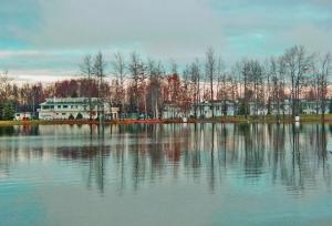 Reflections Across the Lake