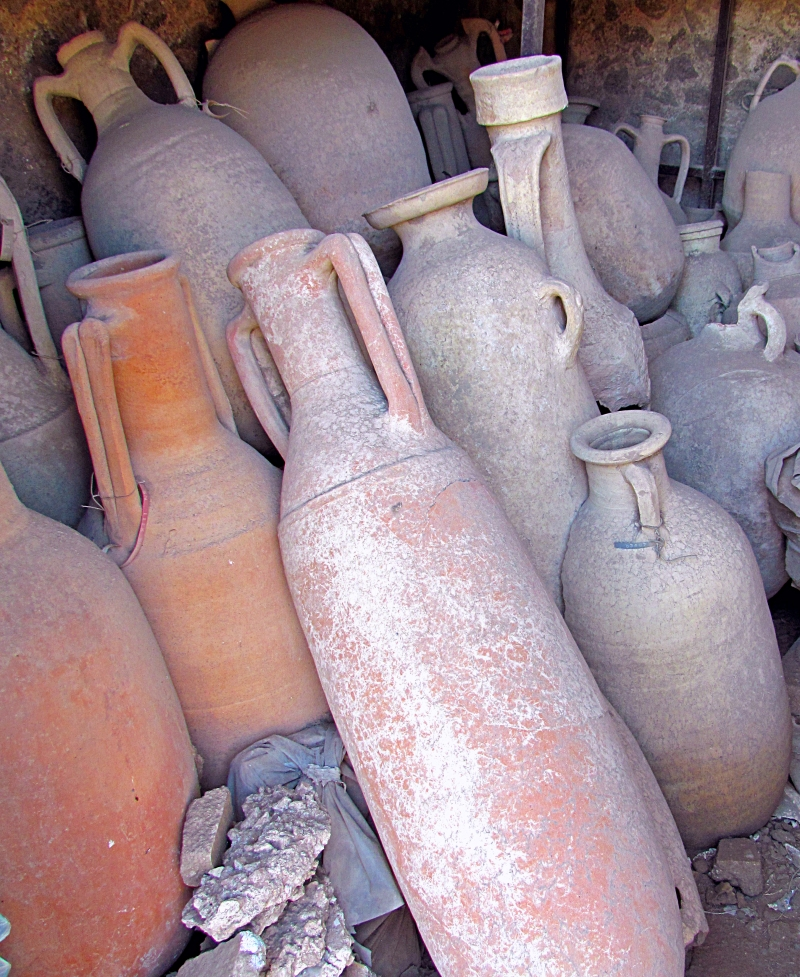 Relics from Pompeii