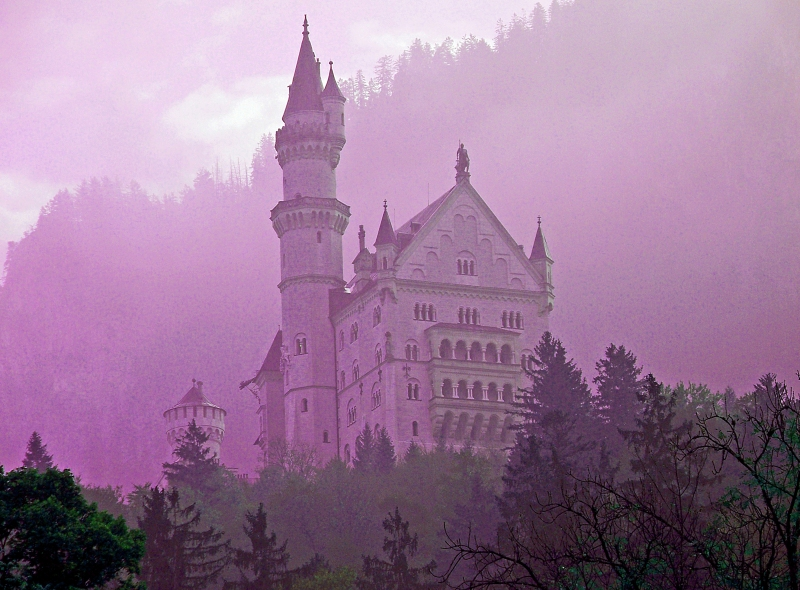 The Sleeping Beauty Castle of Neuschwanstein in Germany