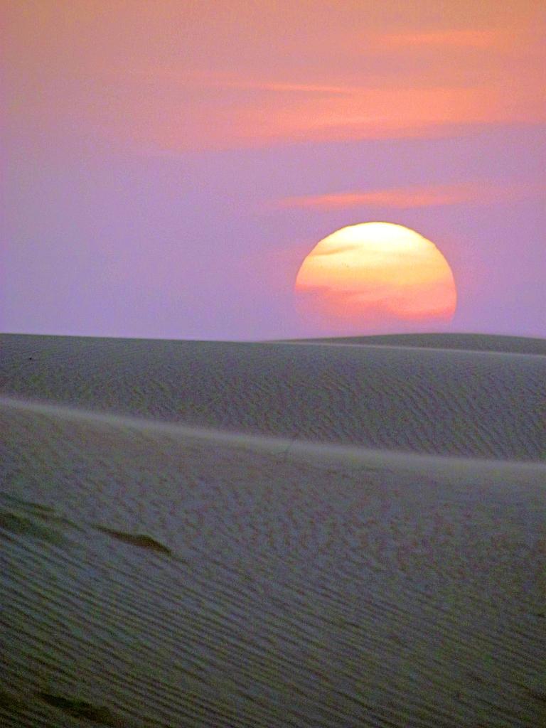 Desert Sunset, Dubai.