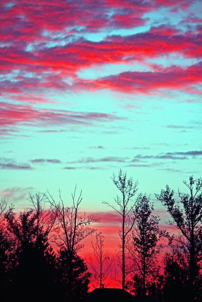 A Sunrise in South Carolina.
