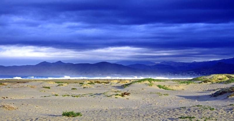 Morro Bay coastline.