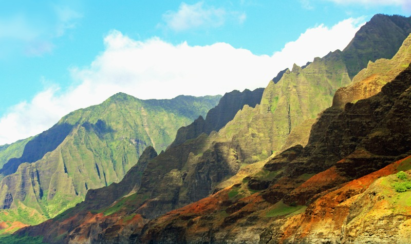 Landscape photography Na Pali Coast