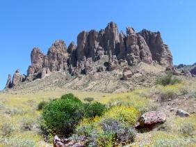 Landscape photography of the Arizona desert.