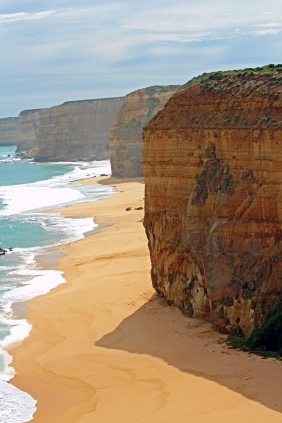 Beach scape photography of Australian coastline.